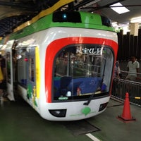Photo taken at Monorail East Garden Station by hirohiro2000x on 8/12/2012