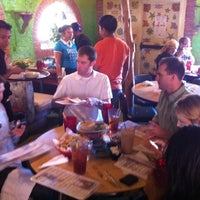 Photo taken at Polvos Mexican Restaurant by Tara S. on 3/11/2011