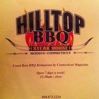 Photo taken at Hilltop BBQ by Anne R. on 6/11/2011