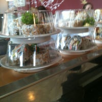 Photo taken at Sushi Train by Lesa D. on 1/6/2012