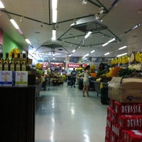 Photo taken at D'Ville Supermercados by BRUNO F. on 8/7/2011