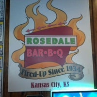Photo taken at Rosedale BBQ by Gary M. on 8/16/2011