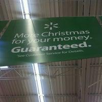 Photo taken at Walmart Supercenter by Geoffrey W. on 12/17/2011