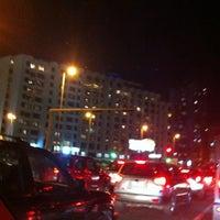 Photo taken at تقاطع البلاجات وشارع المطاعم by Nawaf D. on 2/27/2012
