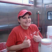 Photo taken at Five Guys by WINTER on 2/21/2012