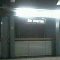 Photo taken at LRT 1 (5th Avenue Station) by Rainne L. on 7/4/2012
