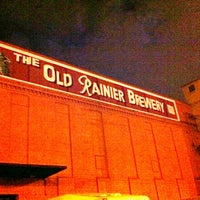 Photo taken at Old Rainier Brewery by Røbert A. on 4/17/2011
