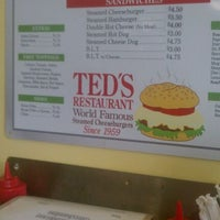 Photo taken at Ted's Restaurant by Quentin W. on 8/21/2011