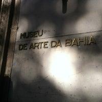 Photo taken at Museu de Arte da Bahia by Hilton M. on 7/27/2012