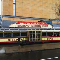 Photo taken at Mickey's Diner by Dan E. on 4/29/2011