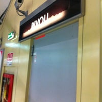 Photo taken at Metro Rivoli (M1) by Giuseppe S. on 11/17/2011