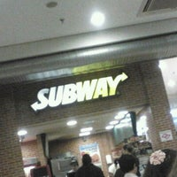 Photo taken at Subway by Bruna L. on 7/9/2012