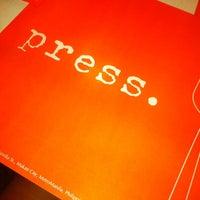 Photo taken at Press Cafe by Nikki on 8/26/2012