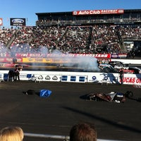 Photo taken at AAA Auto Club Raceway by JOHNNYC on 2/28/2011