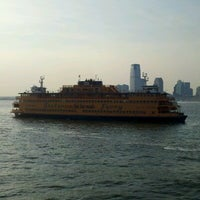 Photo taken at Staten Island Ferry Boat - Andrew J. Barberi by Dan H. on 8/24/2012