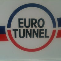 Photo taken at Eurotunnel Victor Hugo Terminal by Tony T. on 5/2/2012