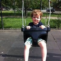 Photo taken at Vincent B. Abate Playground by Freyja B. on 5/29/2011