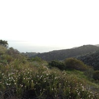 Photo taken at East Topanga Fire Road Trailhead by Annika W. on 5/6/2012