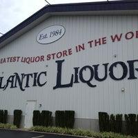Photo taken at Atlantic Liquors by Anna S. on 8/26/2012