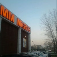 Photo taken at Migros by Ömer Hakan B. on 12/28/2011