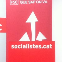 Photo taken at Agrupació Socialista de Viladecans PSC by Cristobal A. on 7/19/2011