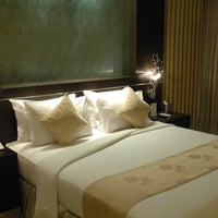Photo taken at FM7 Resort Hotel Cengkareng by Stephanie G. on 6/1/2012