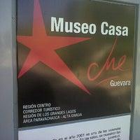 Photo taken at Museo Casa Ernesto Che Guevara by Sergio P. on 2/10/2012