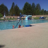 Photo taken at Sunriver South Pool by Tom X. on 7/5/2011