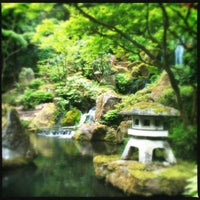 Photo taken at Portland Japanese Garden by JD H. on 5/17/2012