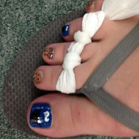 Photo taken at J&L Nails by Stine J. on 8/7/2012