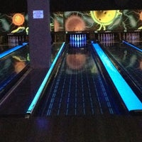 Photo taken at New Roc n Bowl at Funfuzion New Roc City by Mark R. on 8/25/2012