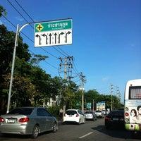 Photo taken at Prachanukun Intersection by Piya W. on 7/12/2011