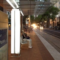 Photo taken at TriMet SW 6th & Pine St MAX Station by G I. on 7/8/2012