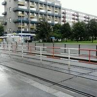 Photo taken at Dejvická (bus) by microsonic on 7/15/2012