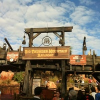 Photo taken at Big Thunder Mountain Railroad by Jeanne Wang F. on 12/9/2011