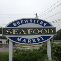 Photo taken at Brewsters Seafood Market by Brian Z. on 5/25/2012