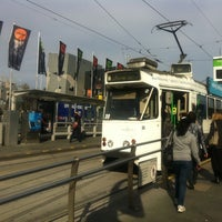 Photo taken at Tram Stop 13 - Federation Square (3/3a/5/6/16/64/67/72) by Daniel C. on 9/3/2011