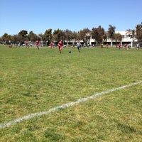 Photo taken at Alameda Point Fields by Carol S. on 5/20/2012