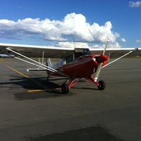 Photo taken at Aeroporto de Caldas Novas (CLV) by Murilo B. on 6/15/2012