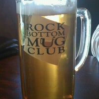 Photo taken at Rock Bottom by Emily B. on 10/7/2011