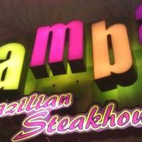 Photo taken at Samba Brazilian Steakhouse by Jason B. on 7/30/2012