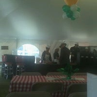 Photo taken at University of Alberta - Big Top Tuck Shop Tent by Tuuli M. on 9/23/2011