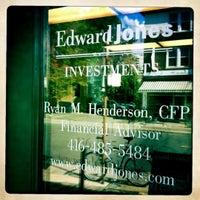 Photo taken at Edward Jones - Financial Advisor: Alex Balodis by Ryan H. on 8/29/2011