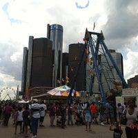 Photo taken at Detroit River Days by Emily Q. on 6/22/2012