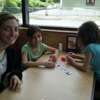 Photo taken at Papa Gino's by Emily K. on 6/27/2012