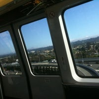 Photo taken at SFO AirTrain by Bachan A. on 8/20/2011