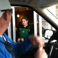 Photo taken at Starbucks by Gina D. on 3/4/2012
