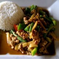 Photo taken at NaraDeva Thai Restaurant by Steve B. on 4/20/2012