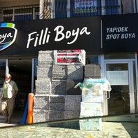 Photo taken at YAPIDEK SPOT BOYA Ataşehir by Suleyman S. on 9/8/2012