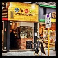 Photo taken at Espresso Alchemy by Ian S. on 3/27/2012